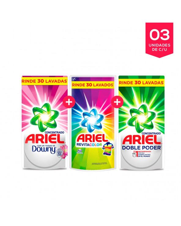 Pack Ariel Liquido TRIO