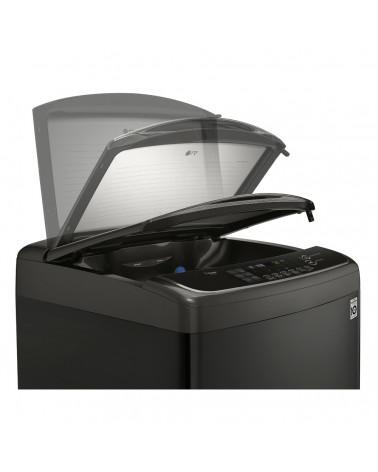 LG LAVADORA CARGA SUPERIOR 17KG WT17BSS6H TURBOWASH 3D - NEGRA