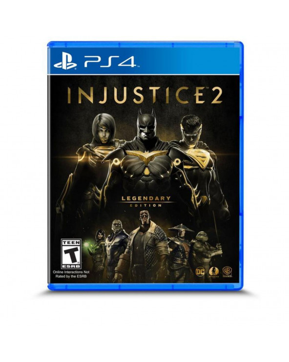 SONY JUEGO PS4 INJUSTICE 2 LEGENDARY EDITION
