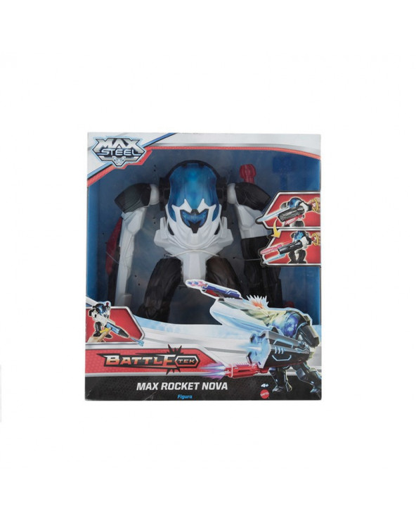 Mattel Muñeco Max Steel Battle Max Rocket Nova