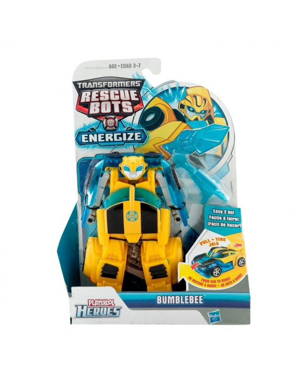 Hasbro Robot Convertible Transformers Rescue Bots Energize Bumblebee