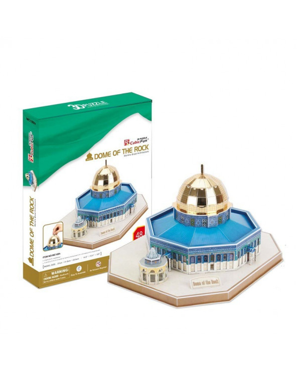 Cubic Fun Rompecabezas Dome Of The Rock 48 piezas