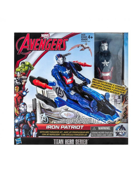 Avengers Titan Hero Vehicle B0431. Surtido de figuras