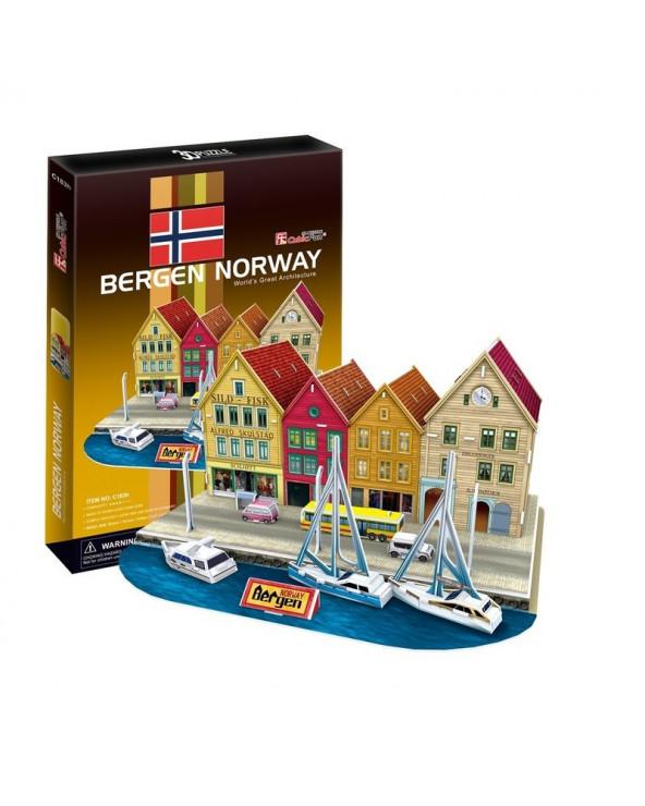 Cubic Fun Bergen C183H 44 piezas