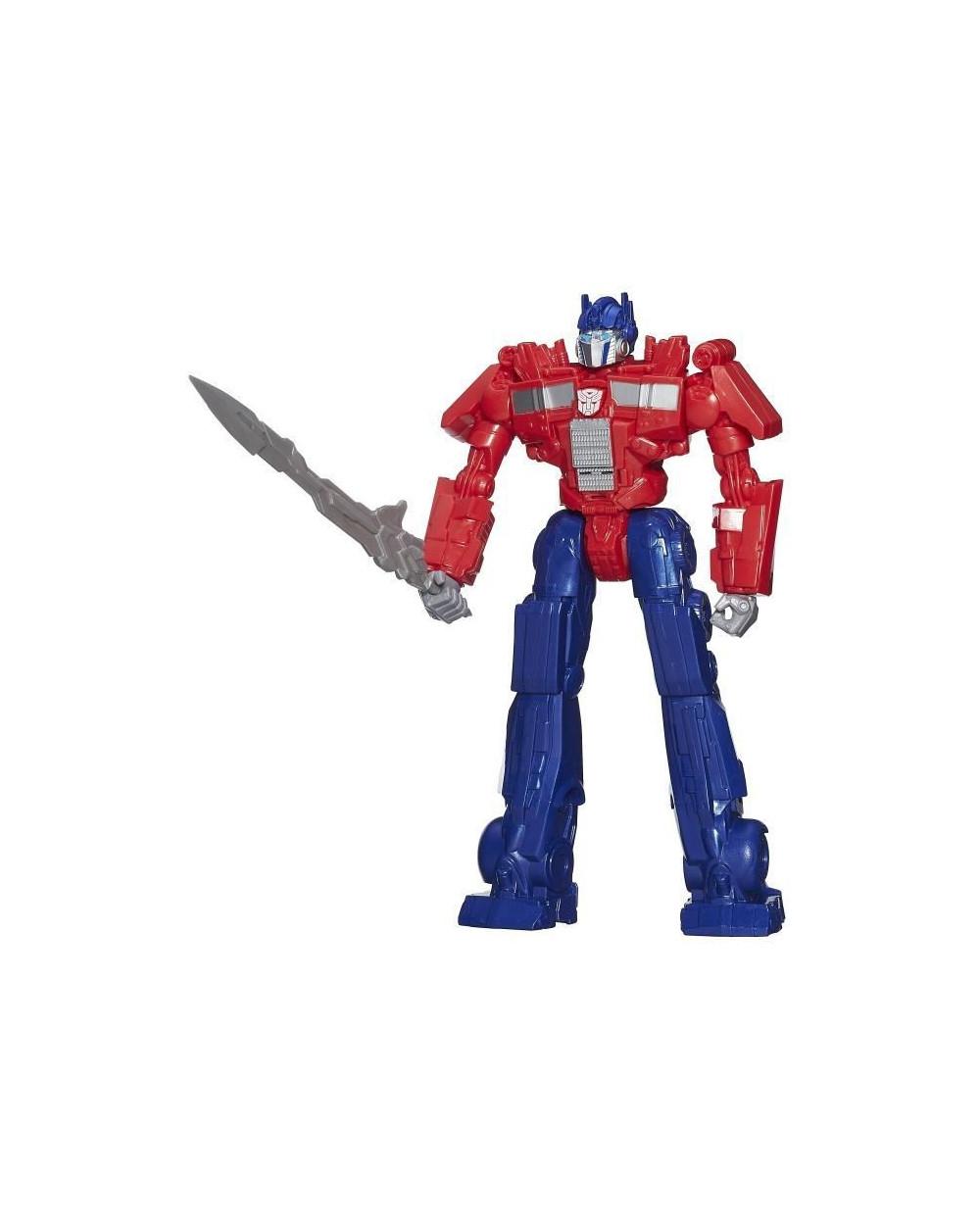 Transformers Titan Heroes Optimus Prime MV4 RID