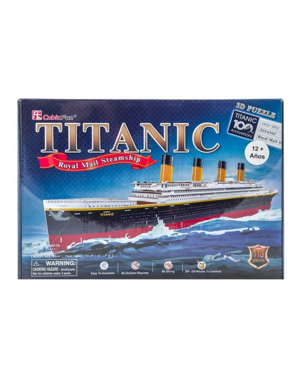 Shantou Cubic Rompecabezas Titanic (Large) T4011H 113 piezas
