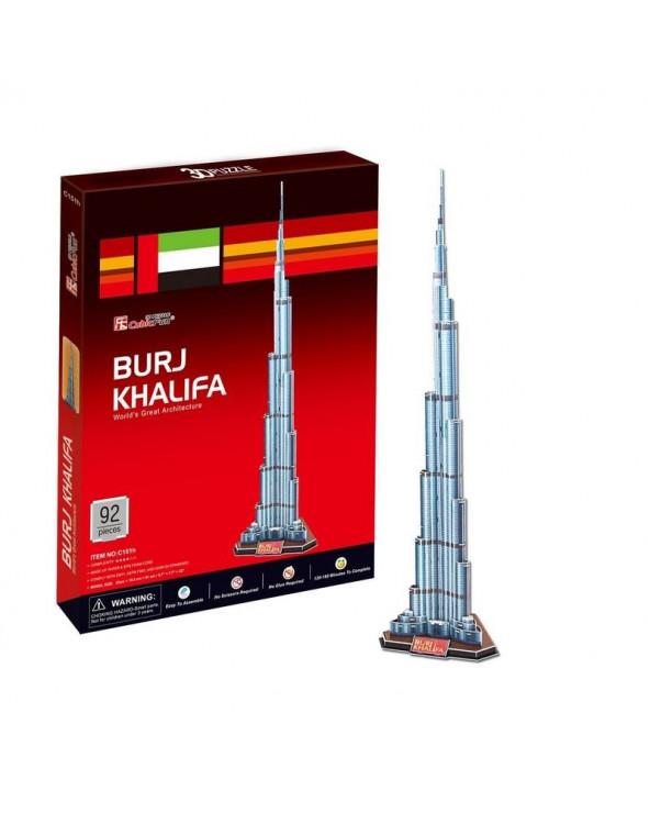 Cubic Fun Burj Khalifa C151H 91 piezas