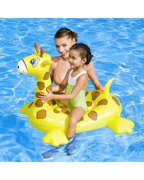 Bestway Flotador para piscina de Jirafa 41082B. Diseños surtidos.