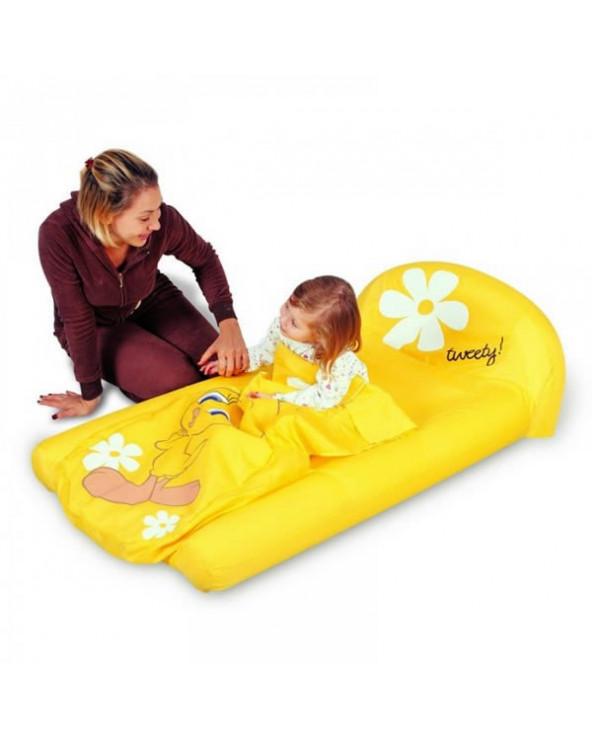 Bestway colchón inflable con bolsa para dormir 97037