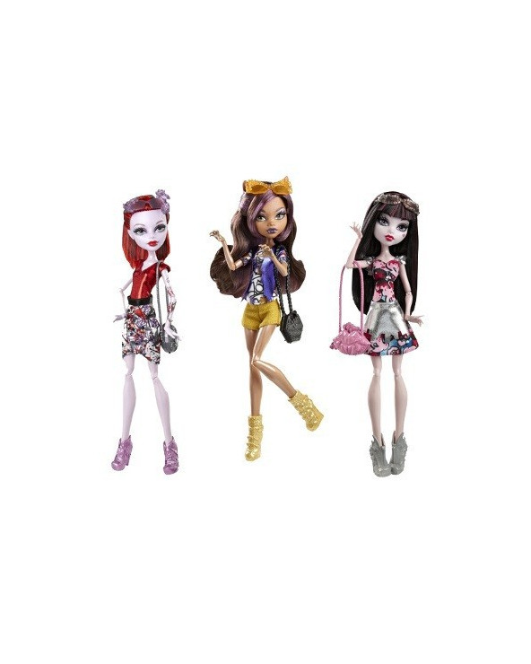 Monster High Muñecas Turistas Monstruosas CHW57