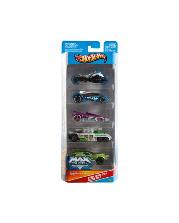 Hot Wheels Max Steel de Cast Autos Surtidos BBR24