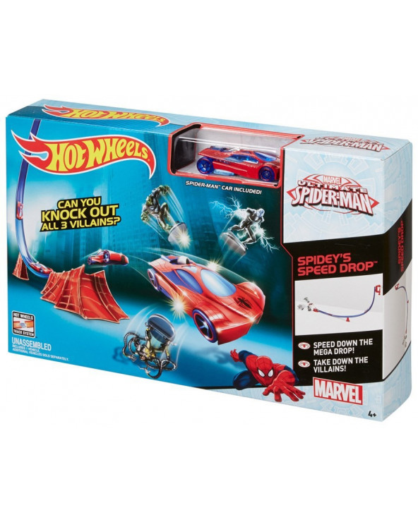 Hot Wheels Marvel Pista Básica DKT27