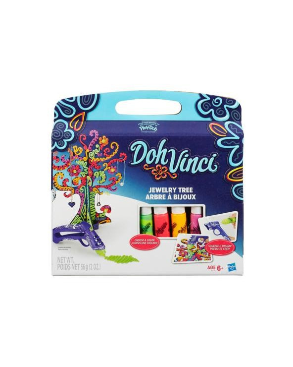Play Doh Vinci Blendables Jewelry Tree Kit B1719