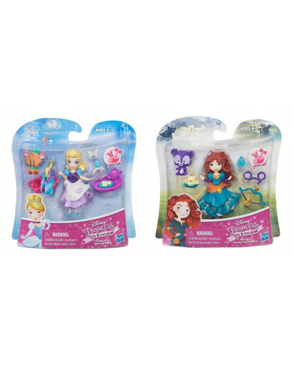 Princesas Small Doll Princess & Friend ASST. B5331