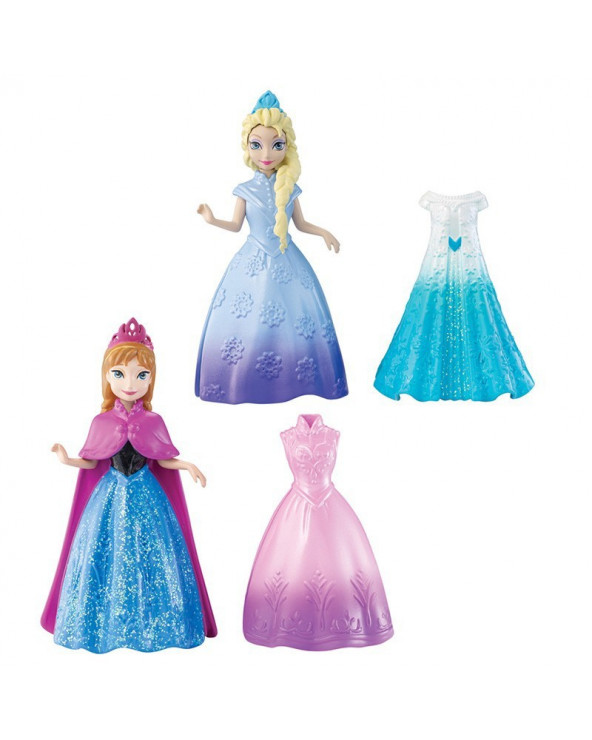 Frozen Muñecas Magic Clip Vestidos Y9969