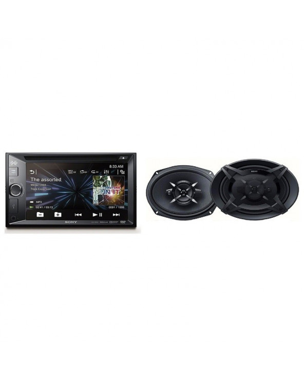 Sony Audiovisual C-Xav-W600+Parlante Xs-FB6930