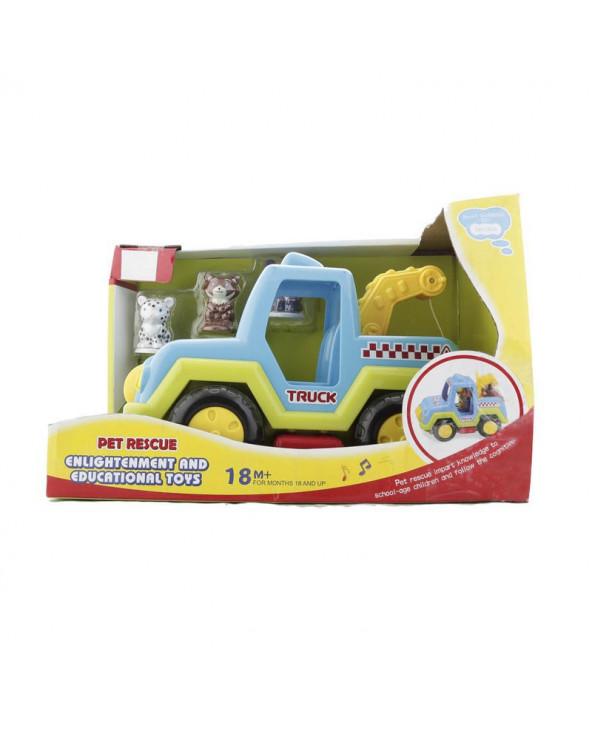 Ocie Camión De Rescate Pet...