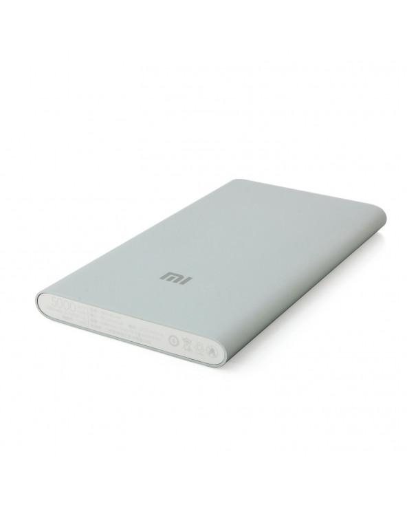 Xiaomi cargador powerbank 5000 mAh Silver