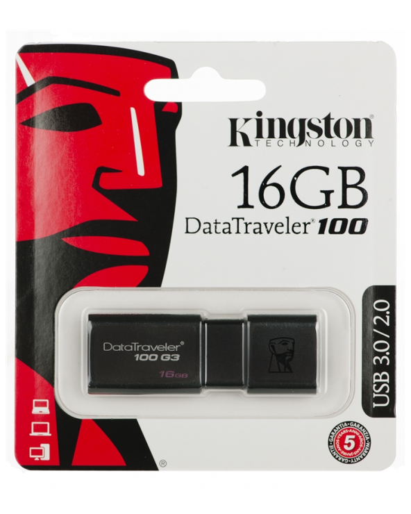 Kingston USB 3.0 DT100G3 16GB