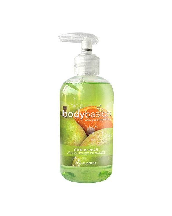 Body Basics jabón liquido de manos Citrus Pear 250gr