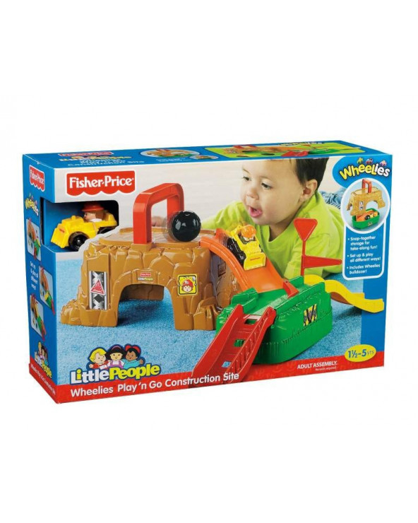 Fisher Price Little People Wheelies Rampa portatil V2748