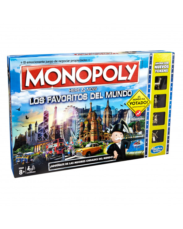 Monopoly World Vote Here & Now B2348
