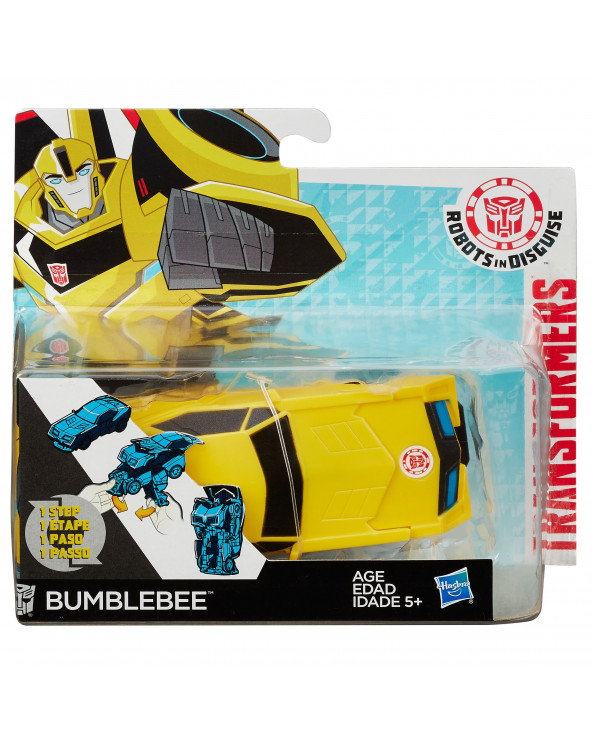 Transformers Rid One-Step Changers - Bumblebee (Solid) B0900