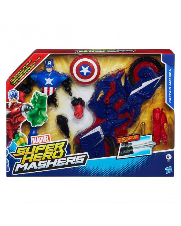 Avengers AVN Hero Mashers CA w/motobike A8014. Modelos Surtidos