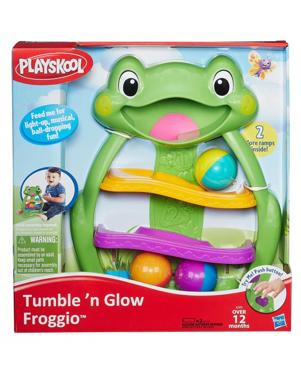 Playskool Juguete para bebés Tumble'n Glow Froggio A7378