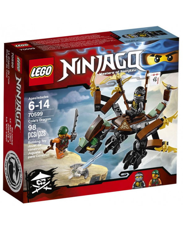 Lego ninjago dragon de cole 70599
