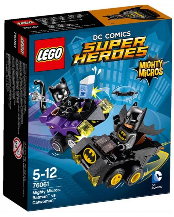 Lego super heroes mighty micros: batman vs. gatubela 76061