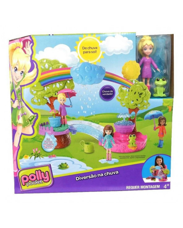 Polly pocket diversion bajo la lluvia DHY82