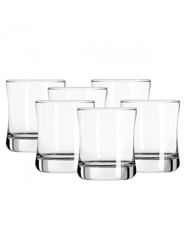 Libbey Set de 6 vasos cortos Malibu CR01037 347ml.