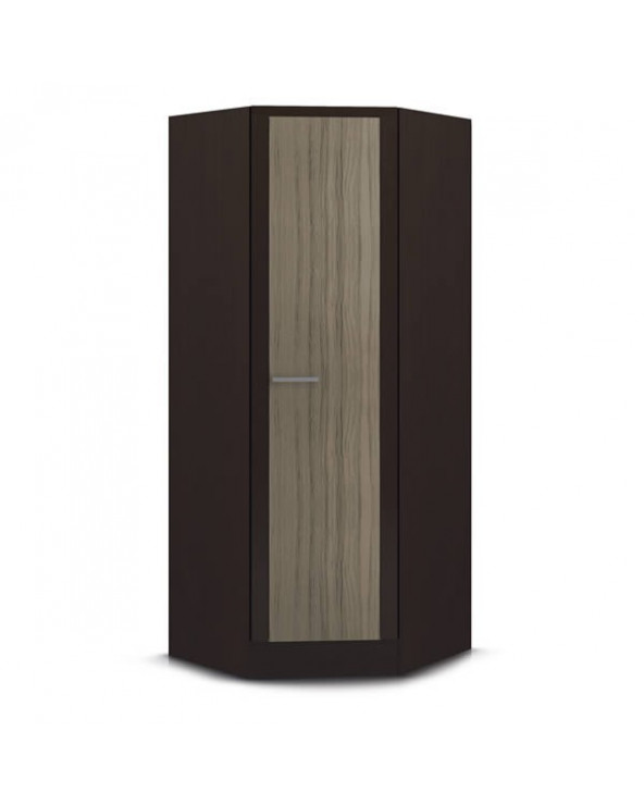 Familia closet modular esquinero 530 color tabaco / roble 530-48