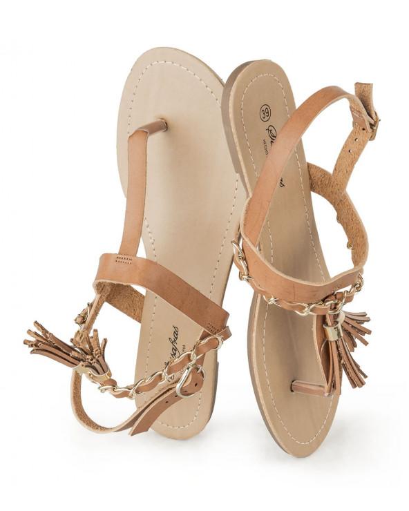 Sassafras sandalia caho 49 camel