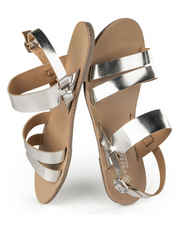 One step sandalias chao 59 pewter