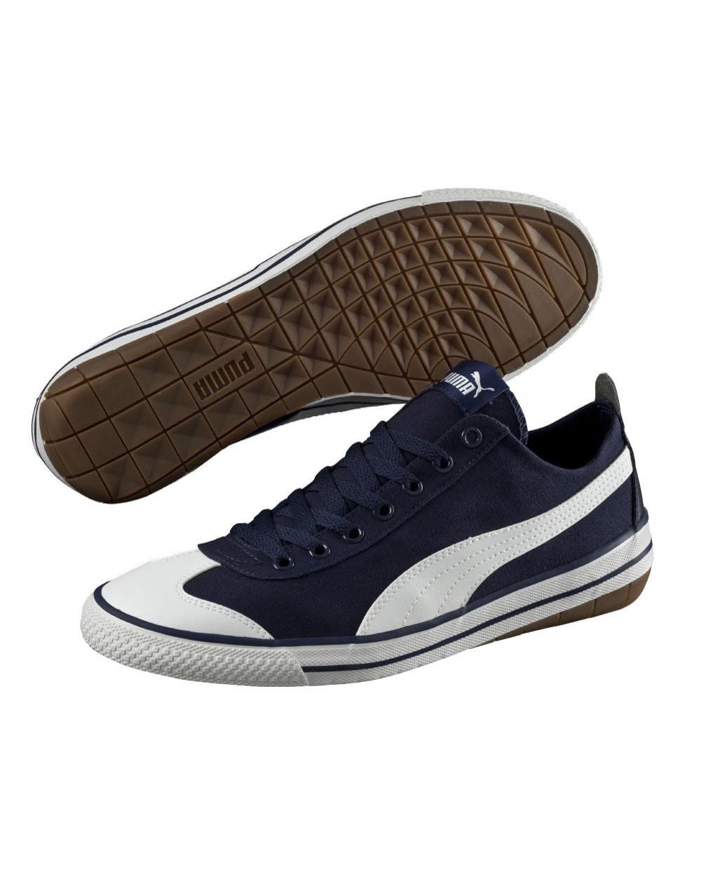 zapatillas puma azul mujer
