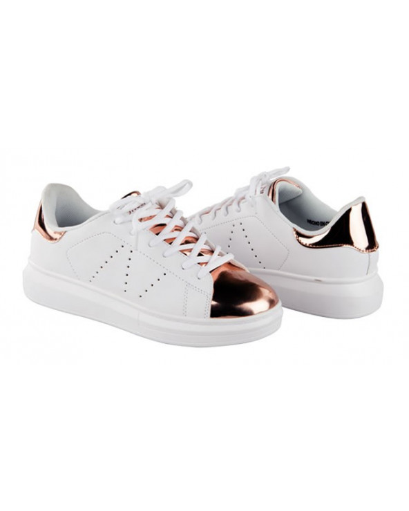 One Step Zapatilla Ace 283 White/Gold
