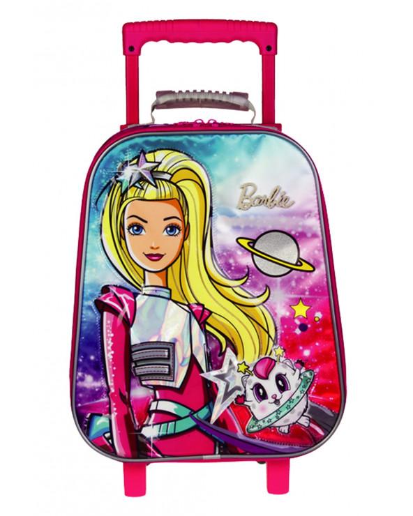 Barbie Maleta Con Ruedas