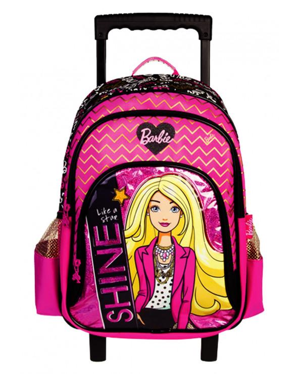 Barbie Mochila Con Ruedas NK324-BBD17