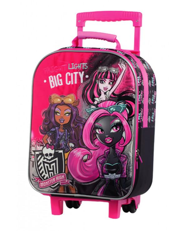 Monster High Mochila Con Rueda HK106-MHA16
