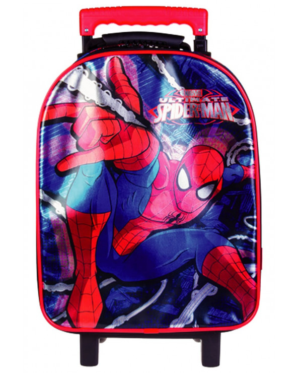 Spiderman Mochila Con Ruedas TBA299-SMC17
