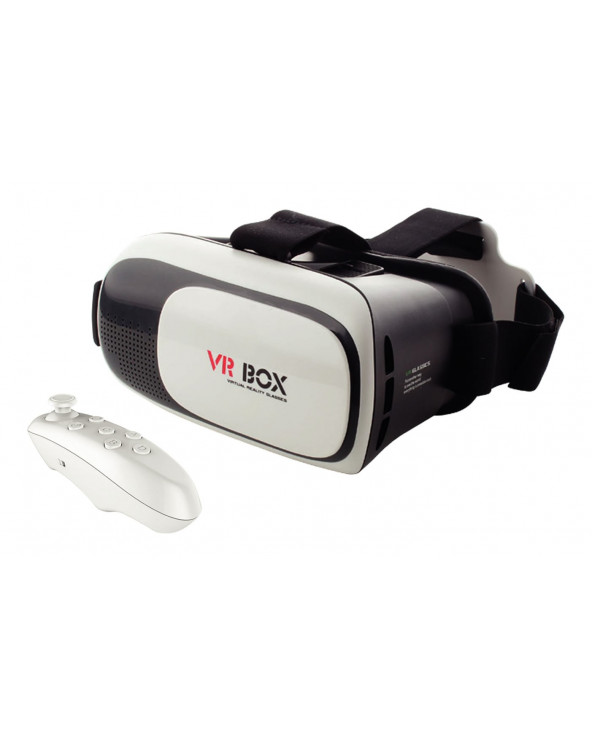 Irayrobot Lentes Realidad Virtual - VR BOX+Mando BT