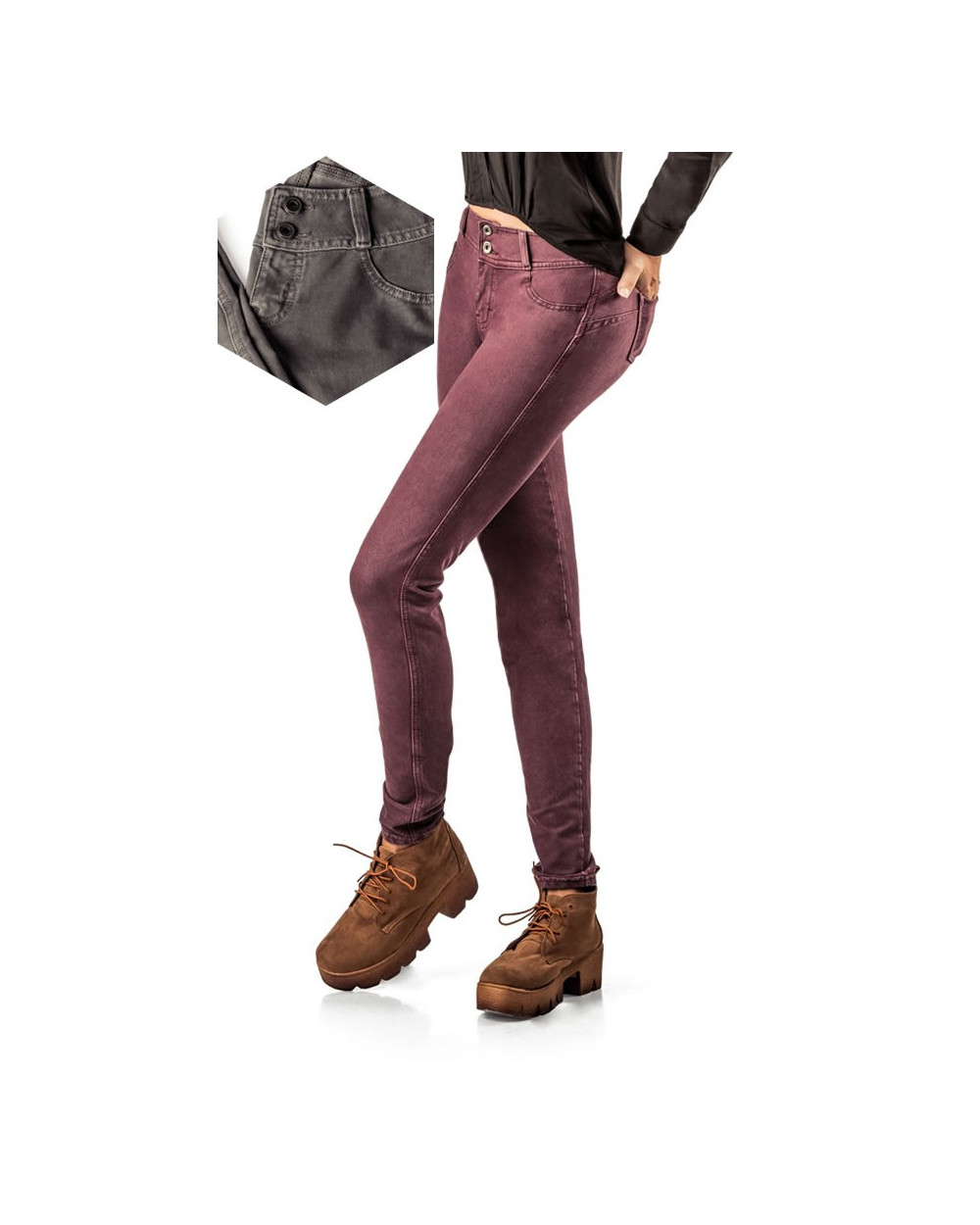 Big City Jeggings French Denim