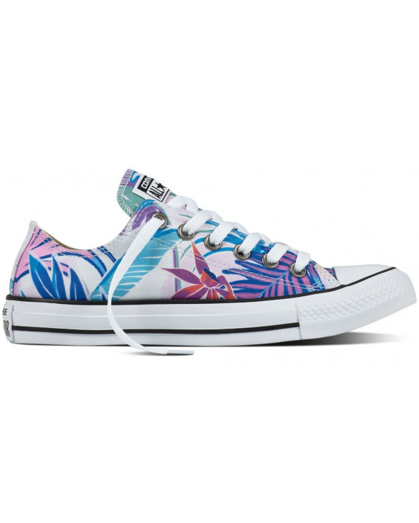 Converse CT All Star Tropical Print OX 155396C Cyan