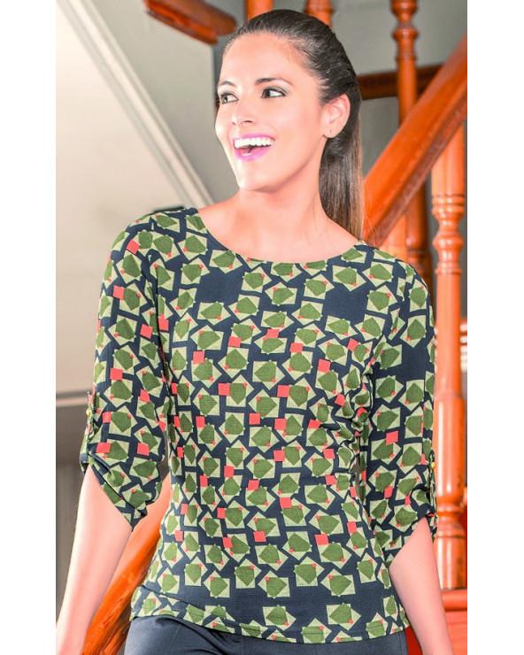 Sassafras Blusa Shirt Taylor