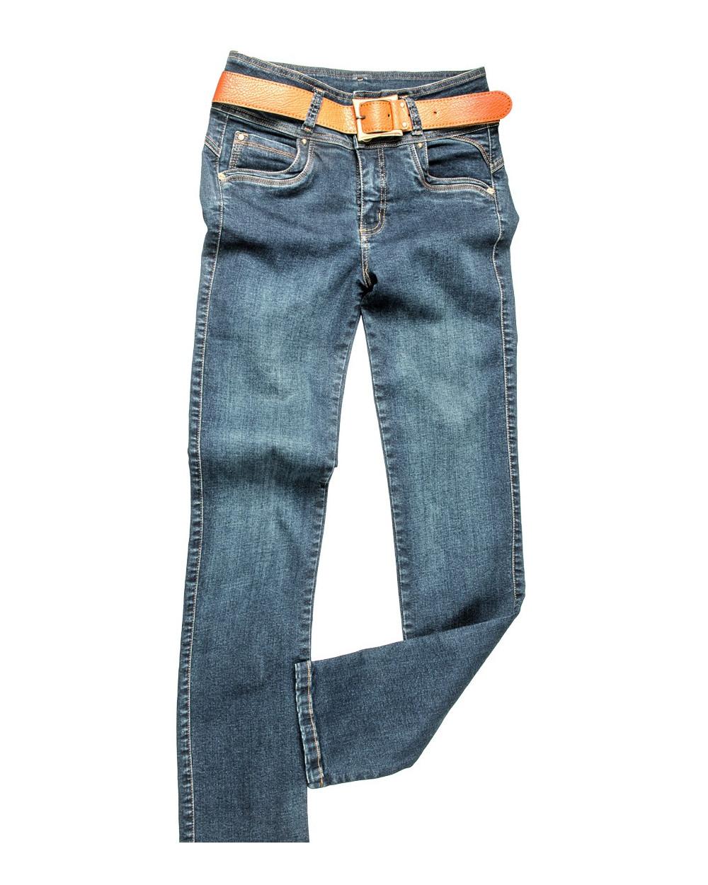 Metal Pant Cintura Denim Dariana
