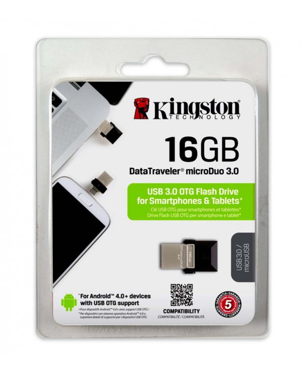 Kingston USB DT Micro Duo 3.0 OTG 16GB
