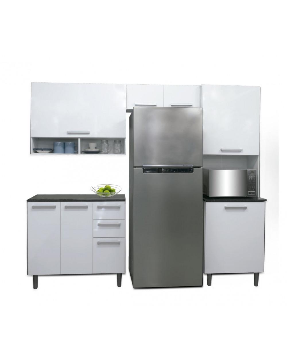 Familia mueble de cocina slim 6500500 6510302 for Canal cocina cocina de familia