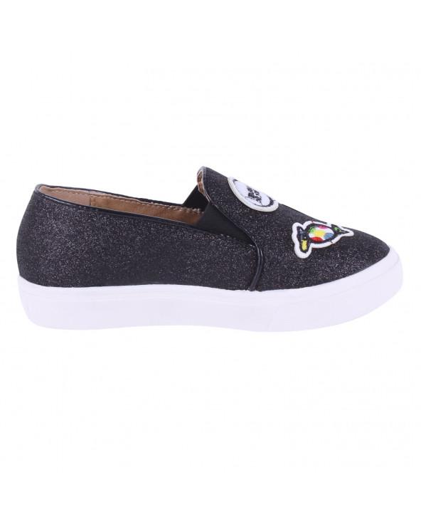 F. Twist Zapato Infantil Sport Niña E026 Black